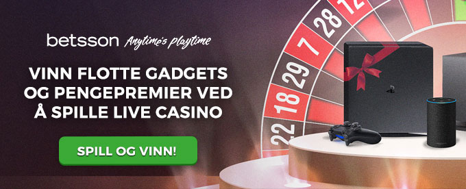 Betsson underholdningsturnering med iPhone X og free spins