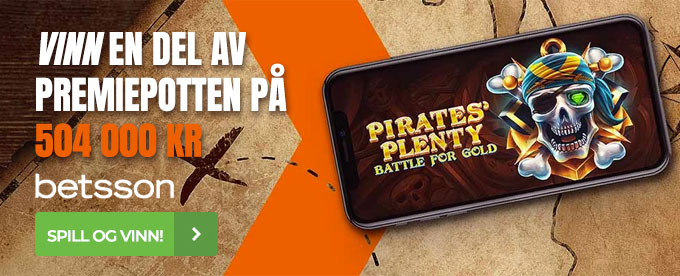 Betsson med Pirates' Plenty-turnering