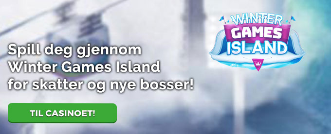 Spill på Winter Games Island hos Casino Heroes