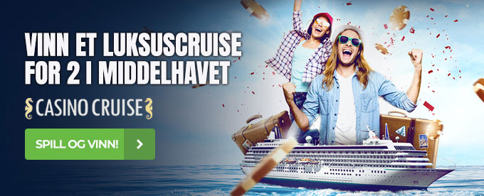 Vinn et luksuscruise for 2 hos CasinoCruise