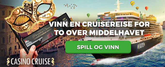 Vinn et luksuscruise for to hos CasinoCruise