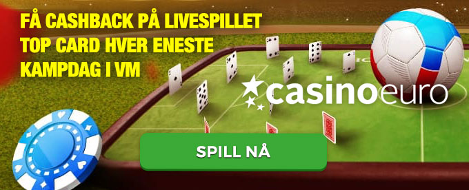 Få cashback på livecasino-bordet Football Studio av Evolution Gaming