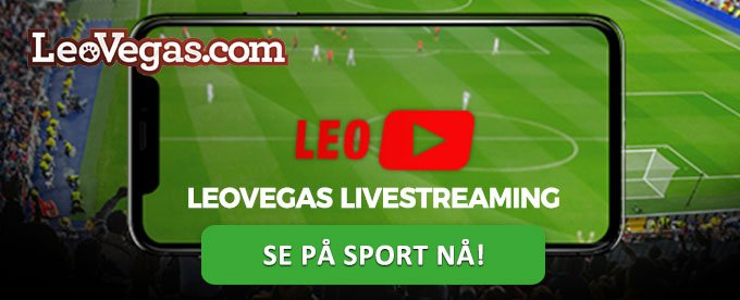 Se livestreaming hos LeoVegas