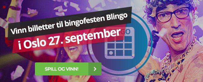 Vinn billetter til Blingo hos Maria Casino