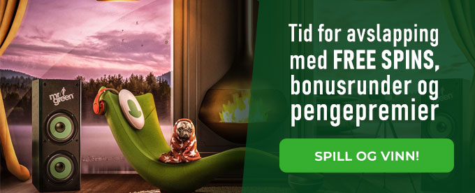 Avslapping med casinospill hos Mr Green