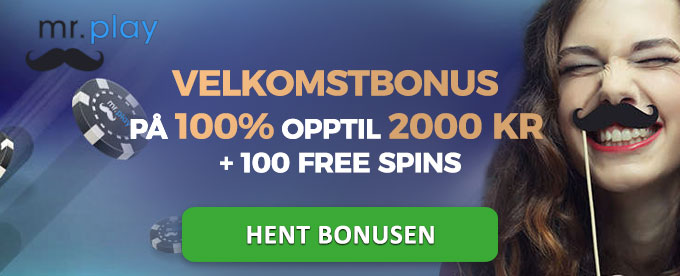 Velkomstbonus hos Mr Play