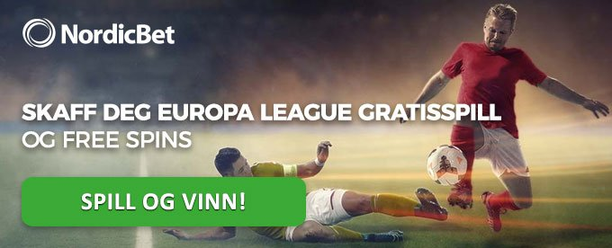 Nordicbet Europa League gratisspill og free spins