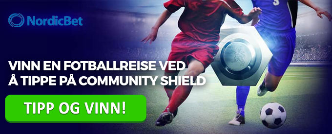 Nordicbet Community Shield-kampanje
