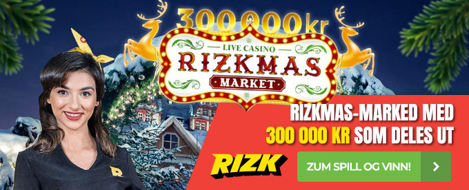 Rizkmas-marked med 300 000 kr i premier
