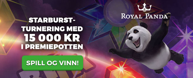 Royal Panda Starburst-turnering