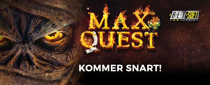 Spilleautomaten Max Quest: Wrath of Ra
