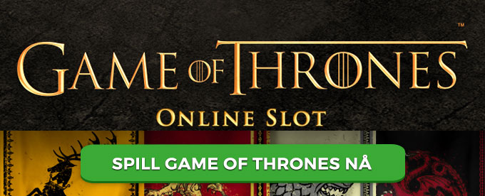 Spill Game of Thrones hos CherryCasino