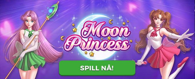 Spilleautomaten Moon Princess fra Play'n Go