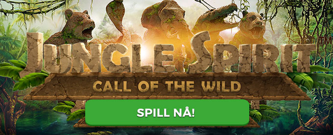 Den 23. mars kan du spille Jungle Spirit: Call of the Wild fra NetEnt