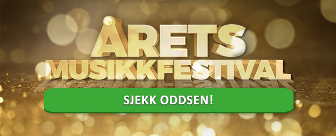 Melodi Grand Prix odds hos bet365