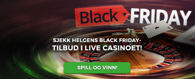 Black Friday-salg hos Betsson