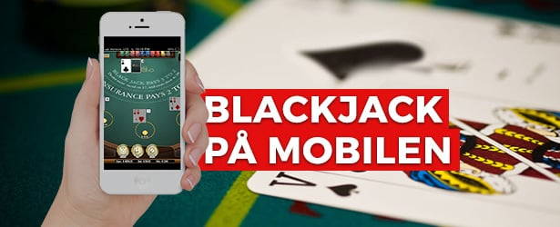 Blackjack på mobilen