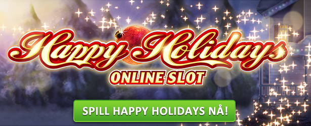 Spill spilleautomaten Happy Holidays hos Cherry Casino