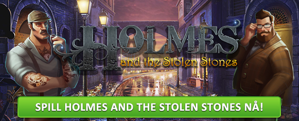 Spilleautomaten Holmes and the Stolen Stones