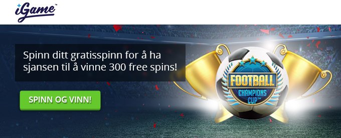 Spinn ditt gratisspinn for å vinne free spins