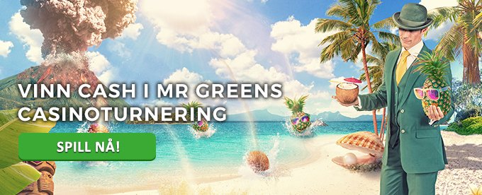 Bli med på Mr Greens casinoturnering