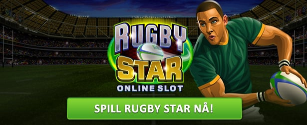 Spilleautomaten Rugby Star fra Microgaming