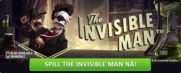The Invisible Man fra Net Entertainment