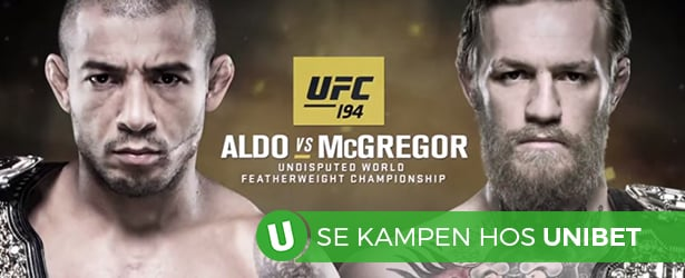 TV-tid Aldo - McGregor