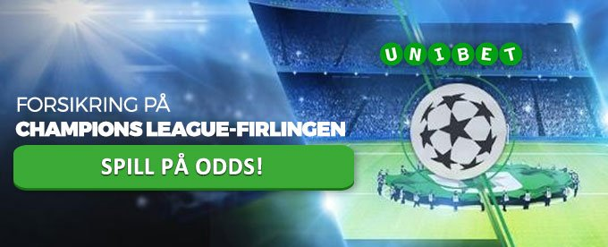 Unibet forsikrer Champions League-firlingen